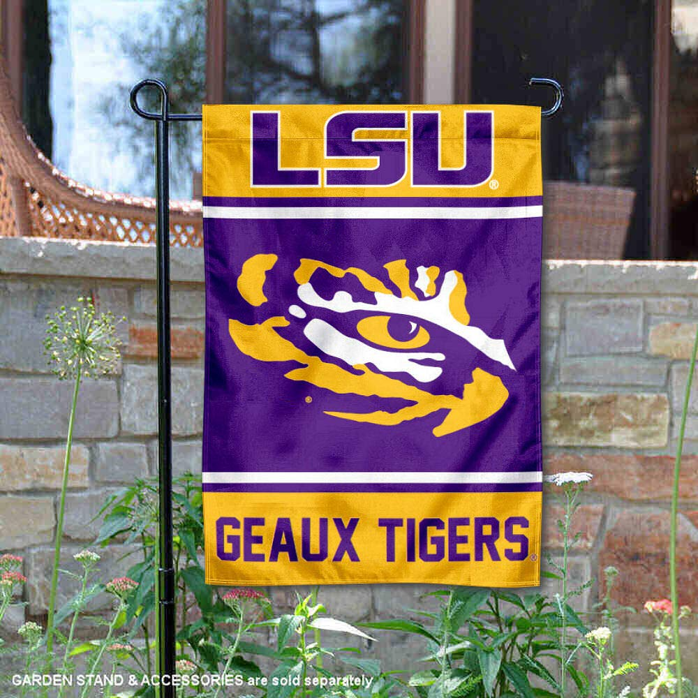 College Flags and Banners Co. Louisiana State LSU Tigers Garden Flag