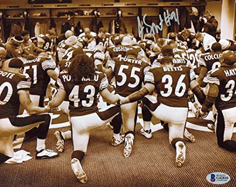 f8febad0e Aaron Smith Autographed Pittsburgh Steelers 8x10 Photo - BAS COA at ...