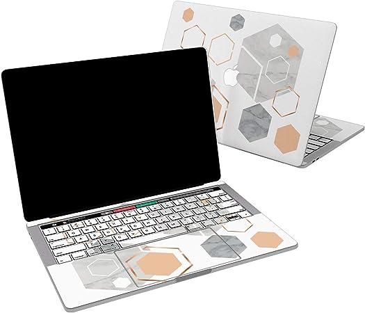 Amazon Com Lex Altern Skin De Vinilo Para Macbook Air De 13 Pulgadas Mac Pro 16 15 Retina 12 11 2020 2019 2018 2017 Geométrica Hexágono Gris Mármol Abstracto Lujo Adhesivo Protector