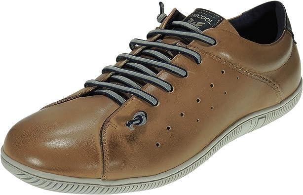 BECOOL 2184 Zapato Cerrado Piel Casual Cordones Elásticos Heho en España para Hombre: Amazon.es: Zapatos y complementos