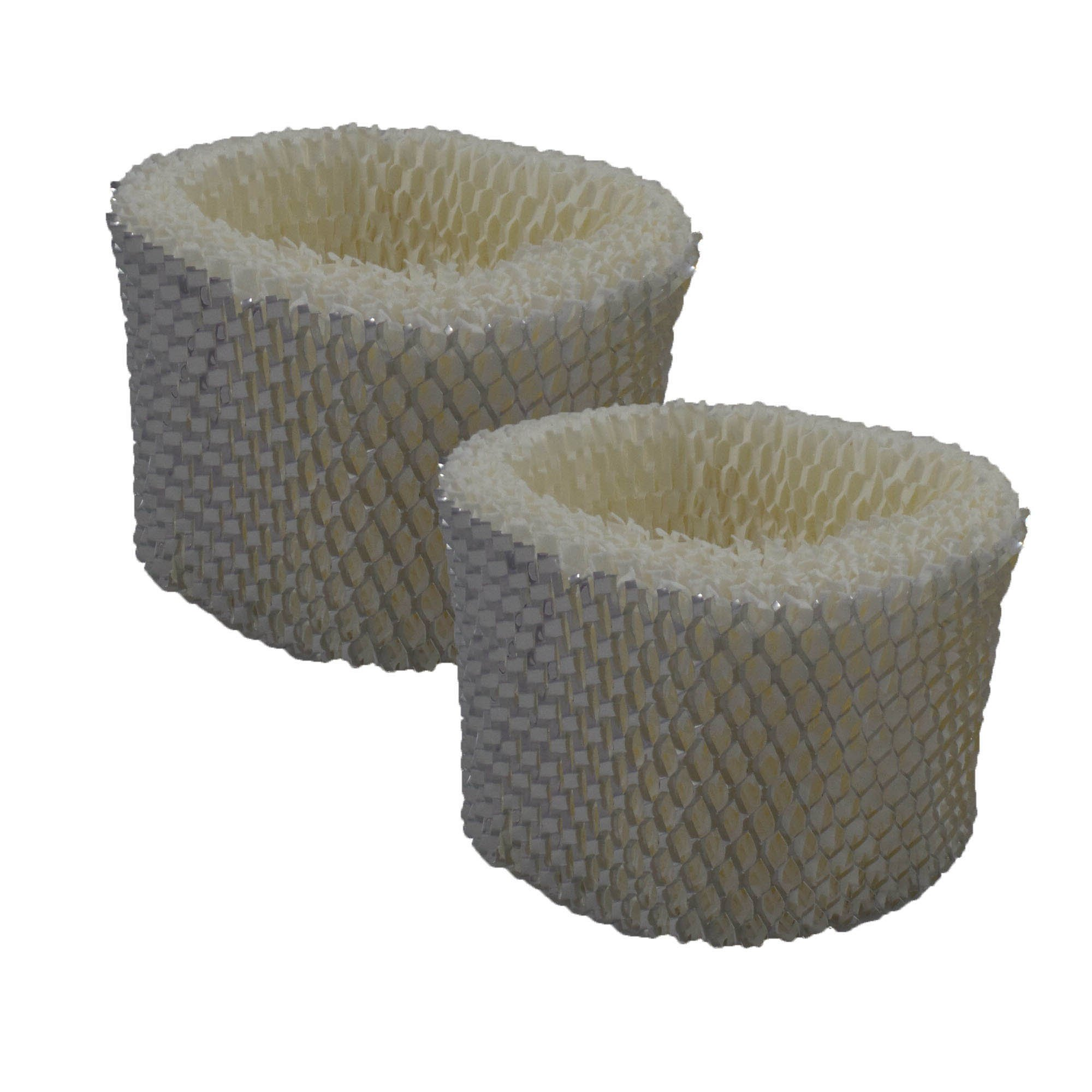 Air Filter Factory 2 PACK Compatible Replacement For Honeywell HAC-504, HAC504, HAC504AW, ECM-250i Humidifer Filter