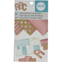 "(3""x5"" Blush Foil (36 Sheets)) - We R Memory Keepers 7.6cm x 13cm Blush Foil (36 Sheets)"