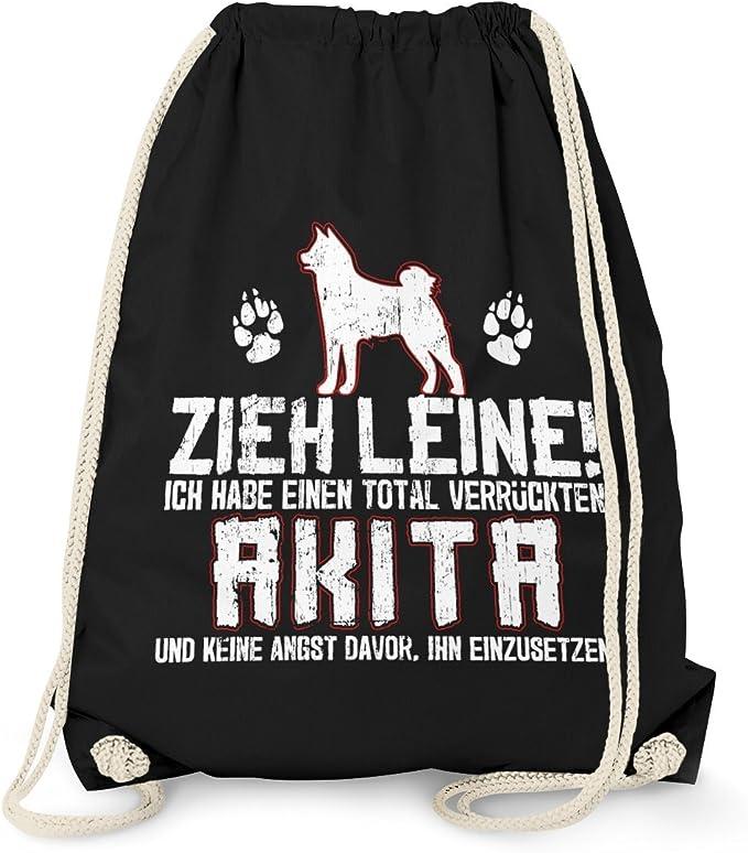 Shiba Inu Zieh Leine Beutel Tasche Spruch Rasse Hunde Besitzer Züchter Lustig