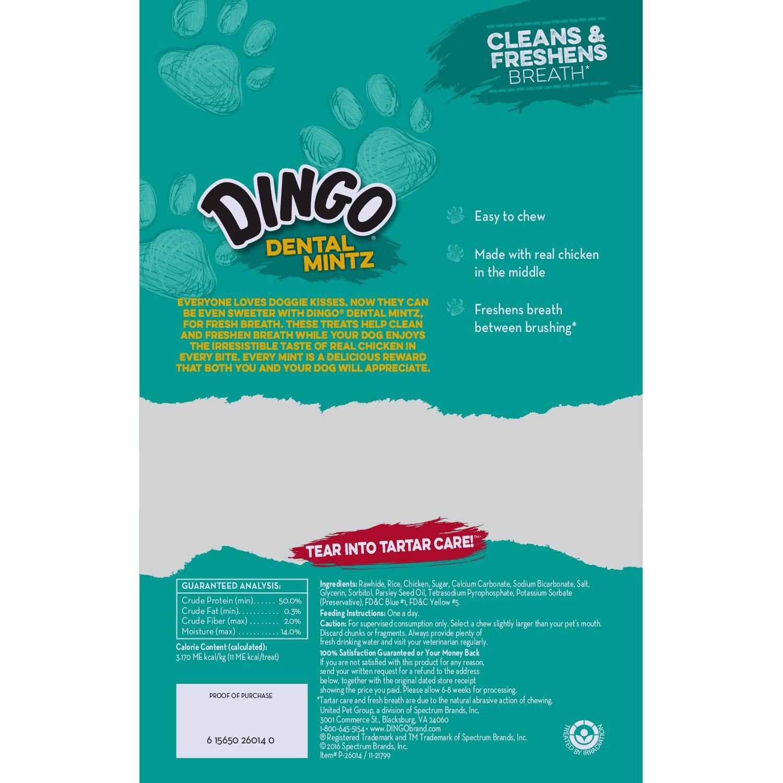 Dingo Dental Mintz Chews For Dogs, Mint Dog Treats by Dingo (Image #2)