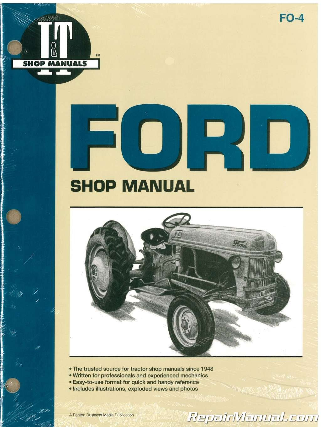 New Holland Ford >> Fo 4 Ford New Holland 2n 8n 9n Tractor Workshop Manual By