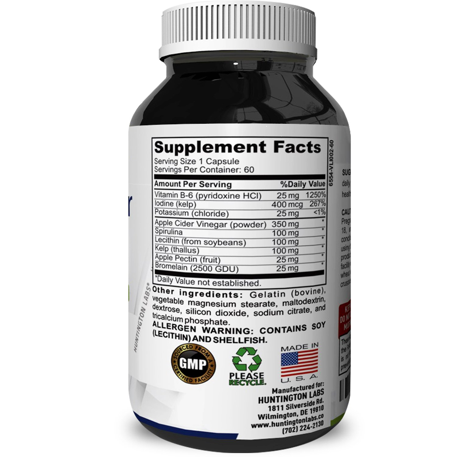 Amazon.com: Apple Cider Vinegar Weight Loss Supplement for Men and Women - Pure ACV Diet Pills Fat Burner Appetite Suppressant with Apple Pectin Spirulina ...