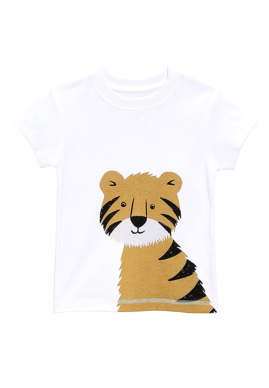 next Niños Pijama De Diseño Abrigado con Motivo De Tigre (9 Meses - 6 Años): Amazon.es: Ropa y accesorios