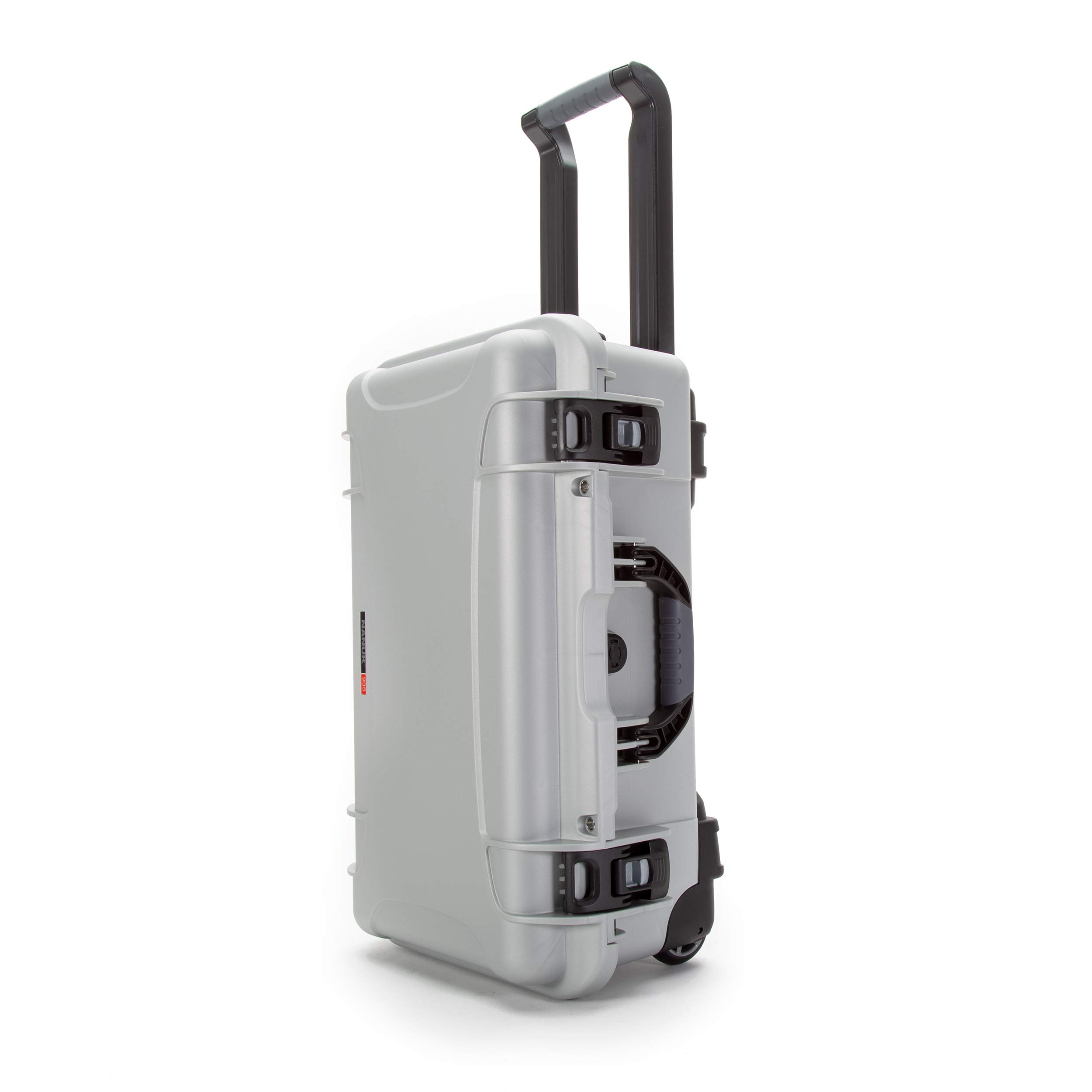 Nanuk 935 Waterproof Carry-On Hard Case with Wheels and Foam Insert - Silver