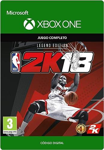 NBA 2K18: Legend Edition   Xbox One - Código de descarga: Amazon.es: Videojuegos