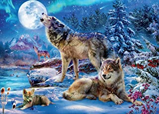 product image for Wolves Winter Wolf Family Puzzle - 1000Piece