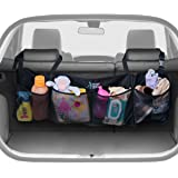 KangoKids BEST AUTO TRUNK ORGANIZER - Keep your Car Clean and Organized. Durable Foldable Cargo Storage for More Trunk Space. Secure with Adjustable Straps to Fit All Vehicles.