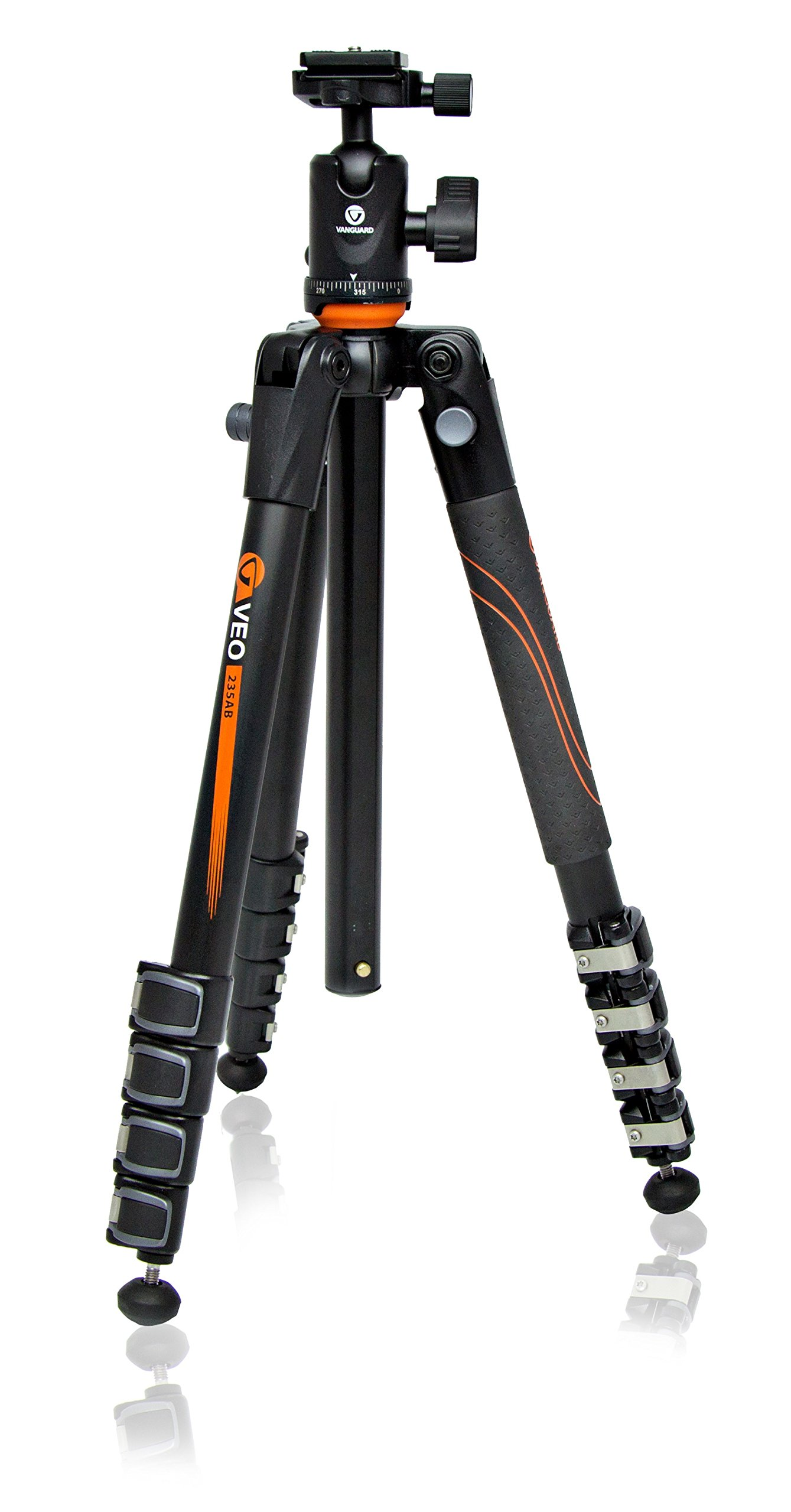 Vanguard VEO 235AB Aluminum Travel Tripod with Ball Head by Vanguard (Image #1)