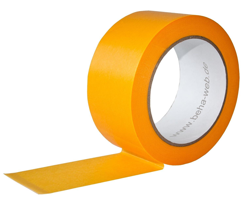 Abklebeband 6 Rollen Malerband Klebeband 50mm x 50m Goldband