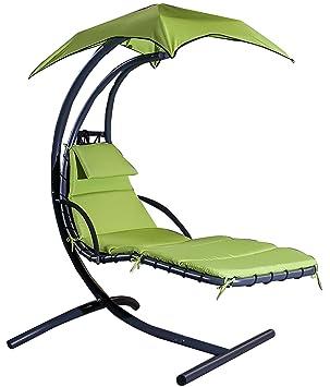 merax Hamaca Columpio de paraguas de grande de 6 puntos silla Dream chaise longue Slight Shake