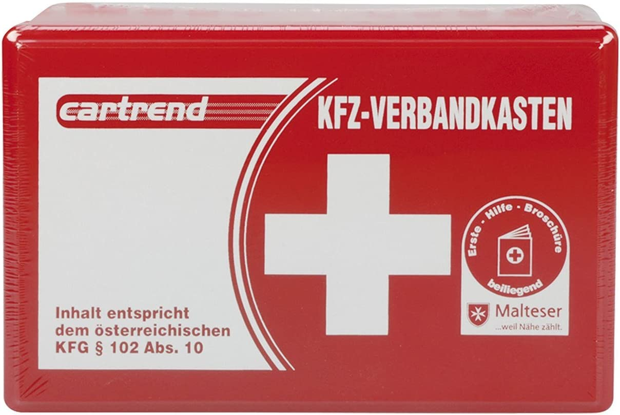 Cartrend 50209 Kfz Verbandkasten Österreich Inhalt Entspricht Österreichischem Kfg 102 Abs 10 Auto