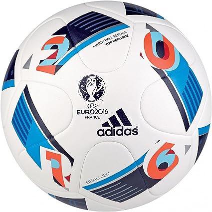 adidas Beau Jeu EURO16 Balón de fútbol, Primavera/Verano, Color ...