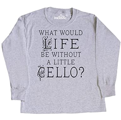 26f951cd1 Amazon.com: inktastic - Cellist Music Gift for Cello Player Youth Long  Sleeve T-Shirt 34d64: Clothing