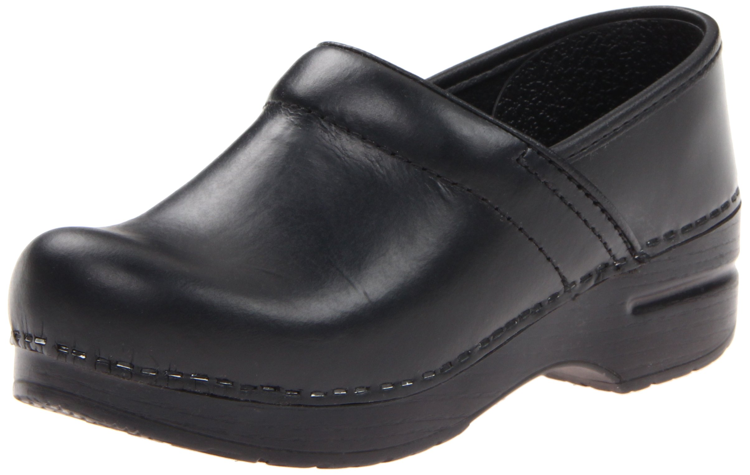 Dansko Professional Narrow Clog,Black,39 EU