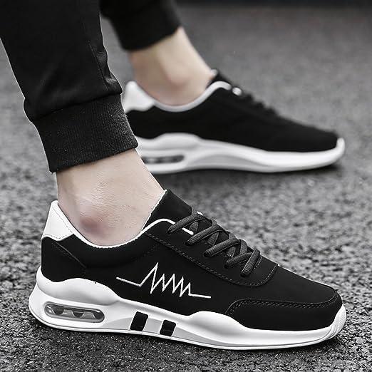 Shoes LVZAIXI Zapatos Hombre Zapatos PU Microfibra Sintético PU Invierno Otoño Confort Zapatillas De Atletismo Running para Deportivo Casual Acogedor (Color : 03, Tamaño : EU39/UK6/CN39): Amazon.es: Hogar