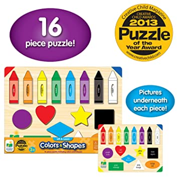 Buy The Learning Journey Lift & Learn Colors & Shapes Online ...