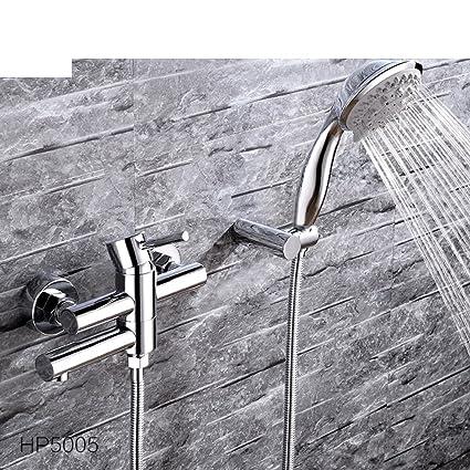 Todo bañera de cobre grifo de agua caliente y fría/Calentador solar de agua válvula