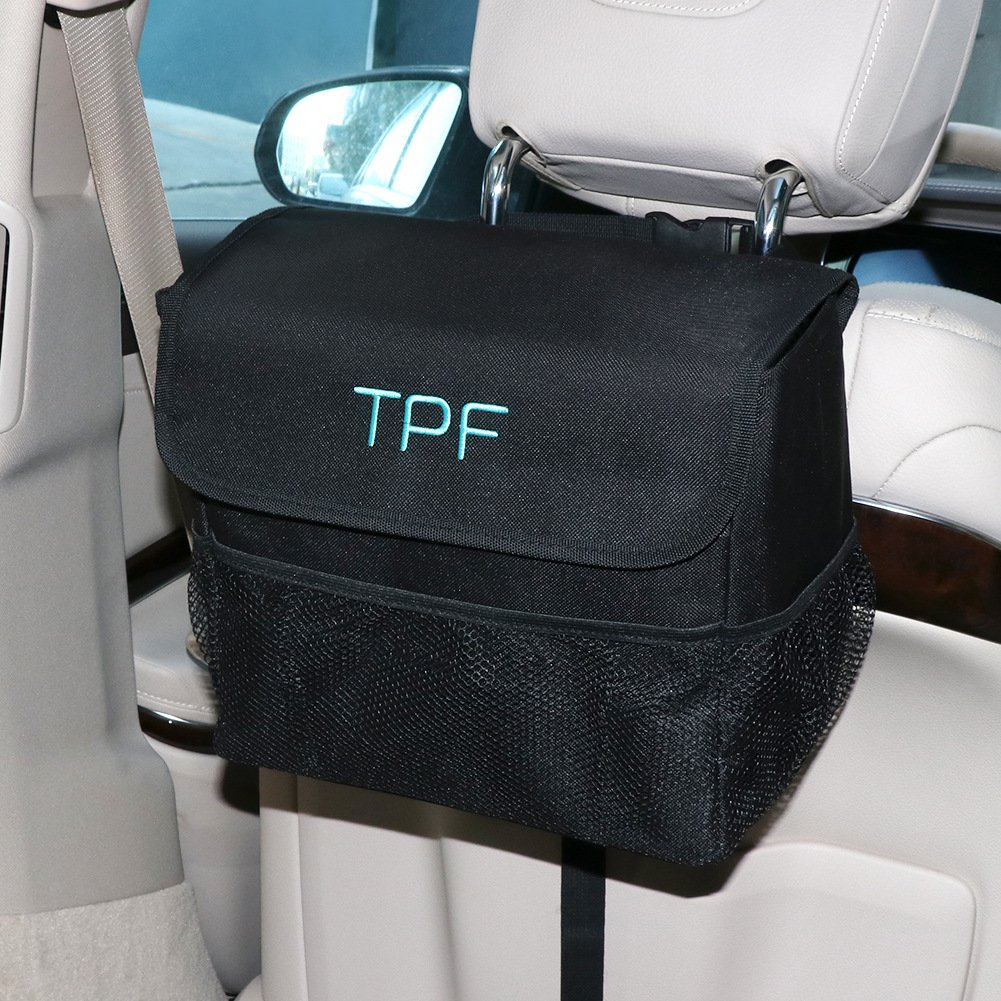 SEG Direct AU10JANCGC4030 Auslaufsicherer Müllsack für Autos mit Deckel
