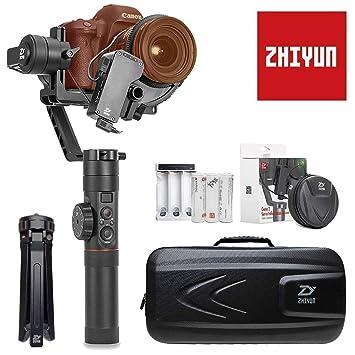 Zhiyun-Crane-2 - Estabilizador para cámara réflex Digital, Gimbal, 3 Ejes, con Enfoque Servo Follow