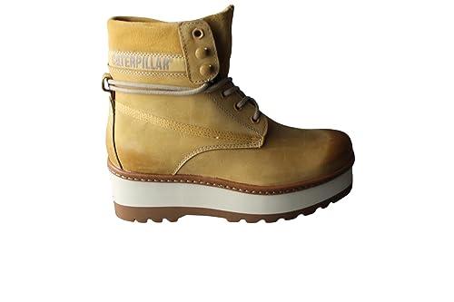 Caterpillar High Hopes - Botas de Piel para mujer Beige beige  Amazon.es   Zapatos y complementos 930be4772453