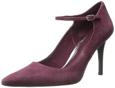 Ralph Lauren Sage Womens Black Suede Heels Shoes