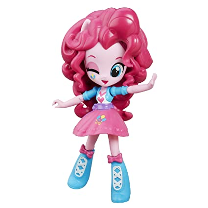amazon com my little pony equestria girls minis pinkie pie doll