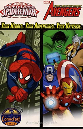 Amazon.com: Marvel Universe Avengers and Ultimate Spider-Man ...