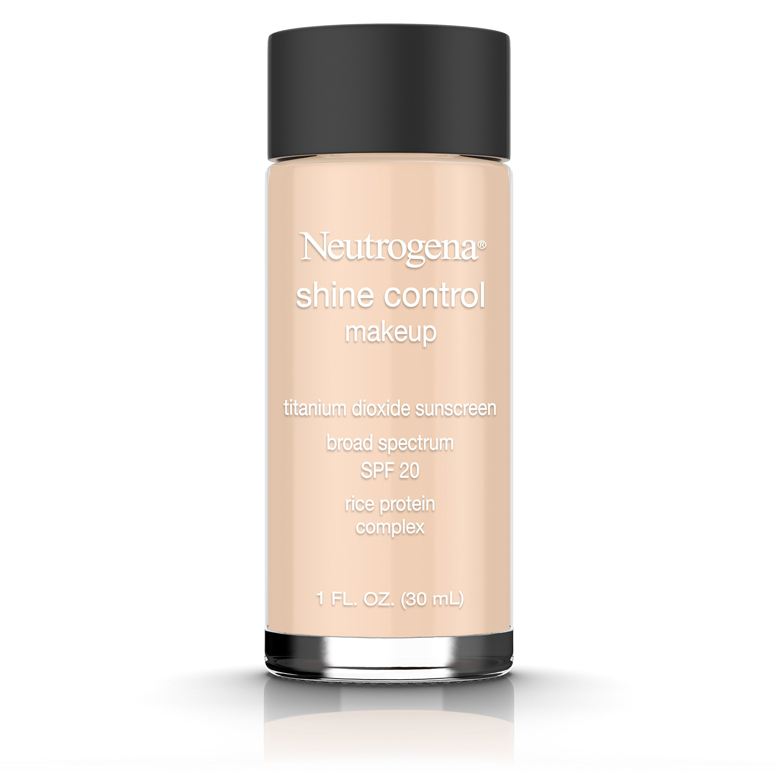 Neutrogena Shine Control Liquid Makeup Broad Spectrum Spf 20, Neutral Beige 60, 1 Oz.