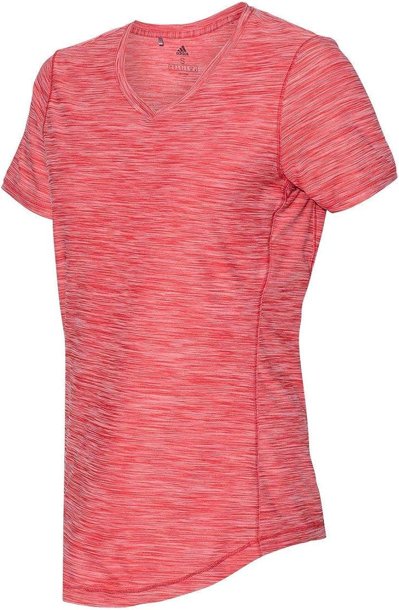 Adidas, maglietta tecnica da donna (A373) Collegiate Red Heather