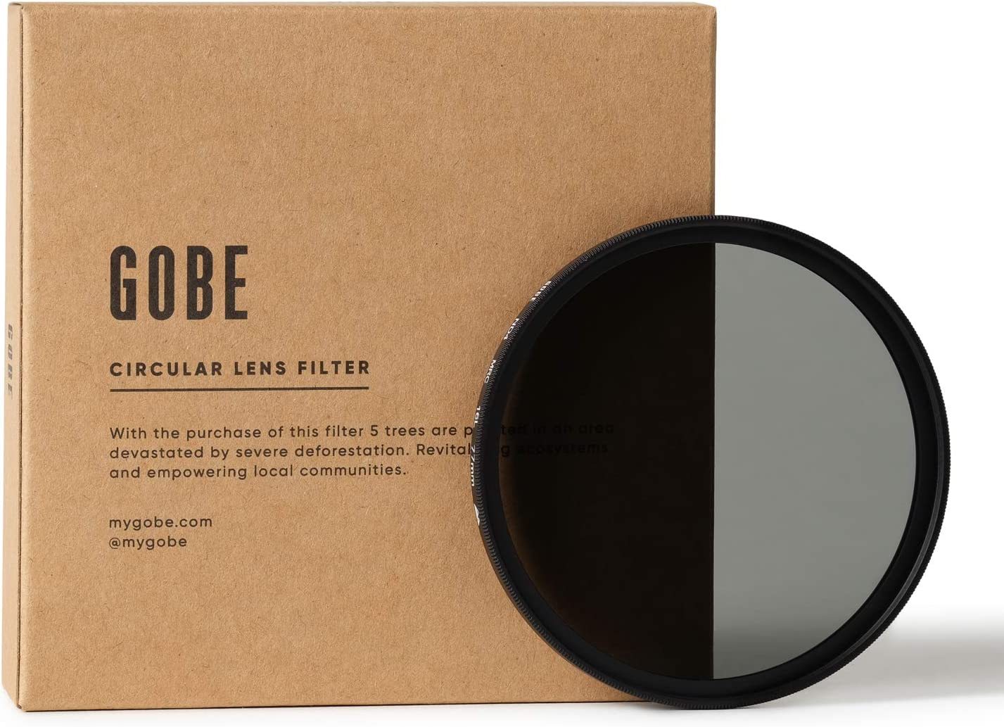Gobe 77mm ND64 (6 Stop) ND Lens Filter (2Peak)