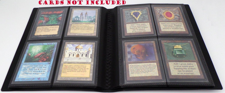 docsmagic.de Pro-Player 4-Pocket Album Black - 160 Card ...