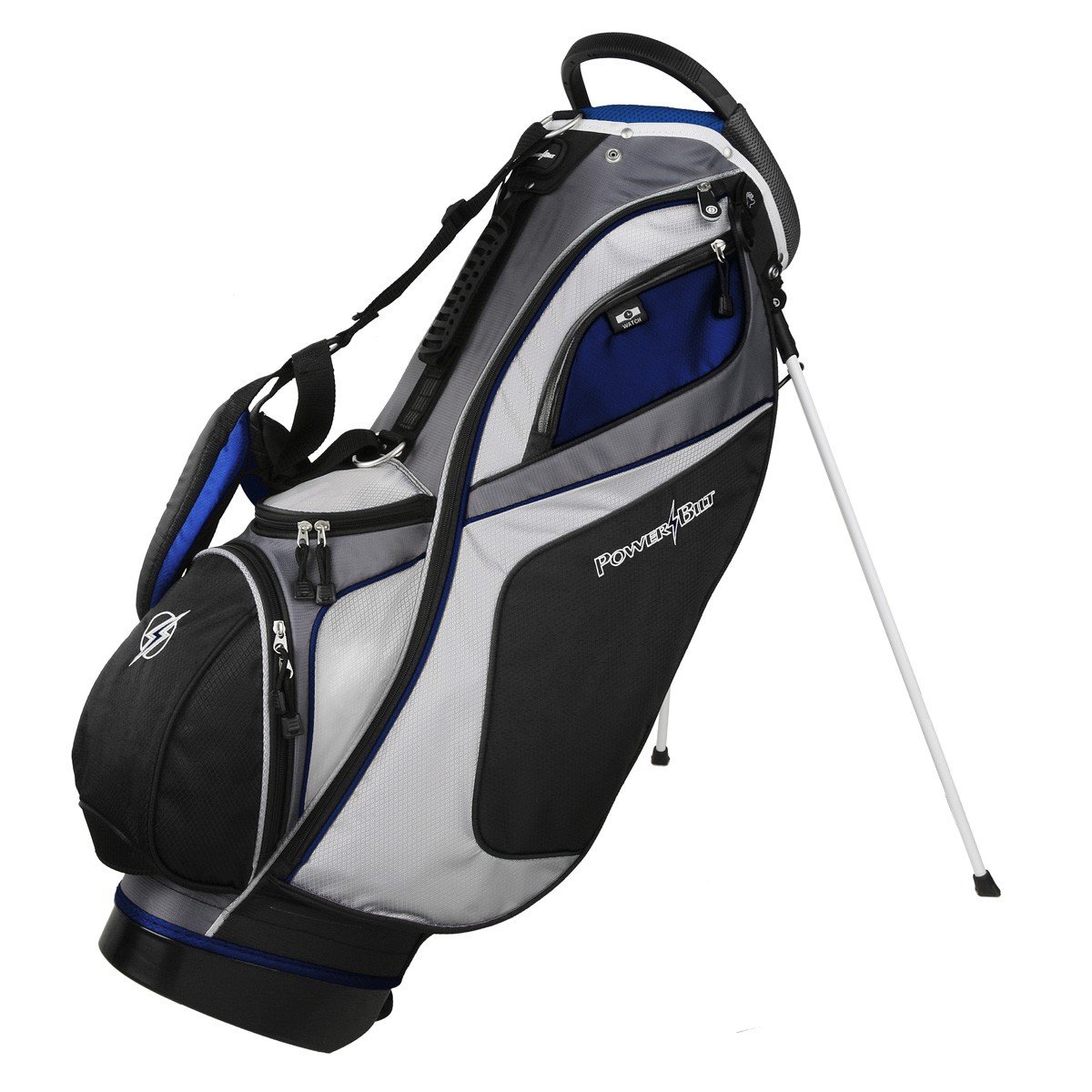 Amazon.com : Powerbilt TPS Dunes 14 Way Black/Black Stand Golf Bag (Black)  : Sports U0026 Outdoors