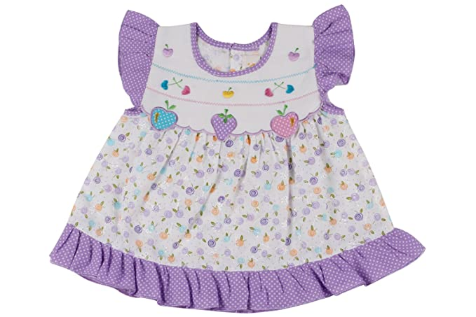 d77cc5940 Ole Baby Chikankari Embroidered Organic Cotton Baby Girl Clothes ...