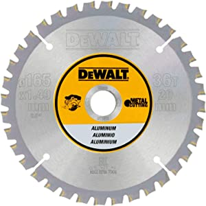 "Dewalt DT1911-QZ 6.5""/20mm 36T Construction Circular Saw Blade"