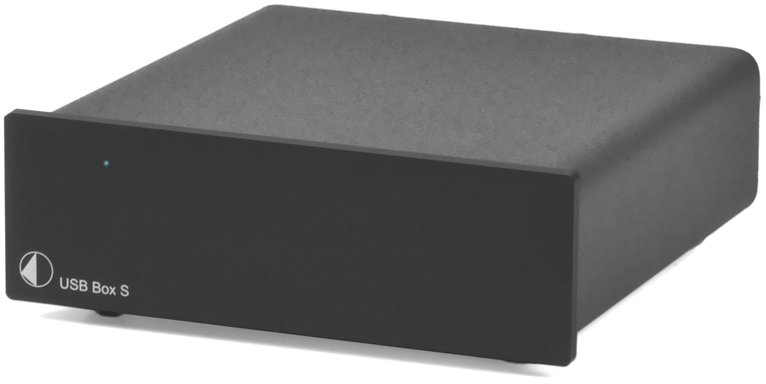 Pro-Ject USB Box S (black) Digital To Analog Converter, Black