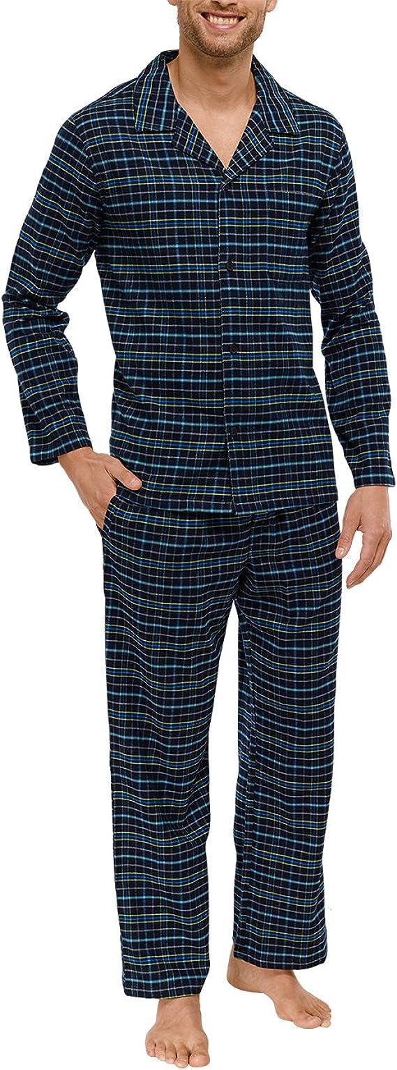 Schiesser Herren Lang Zweiteiliger Schlafanzug