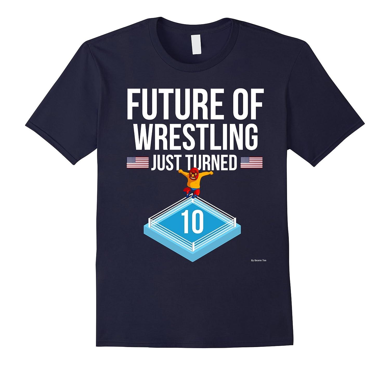 10th Birthday Wrestling T Shirt Gift For June Birthdays-TH