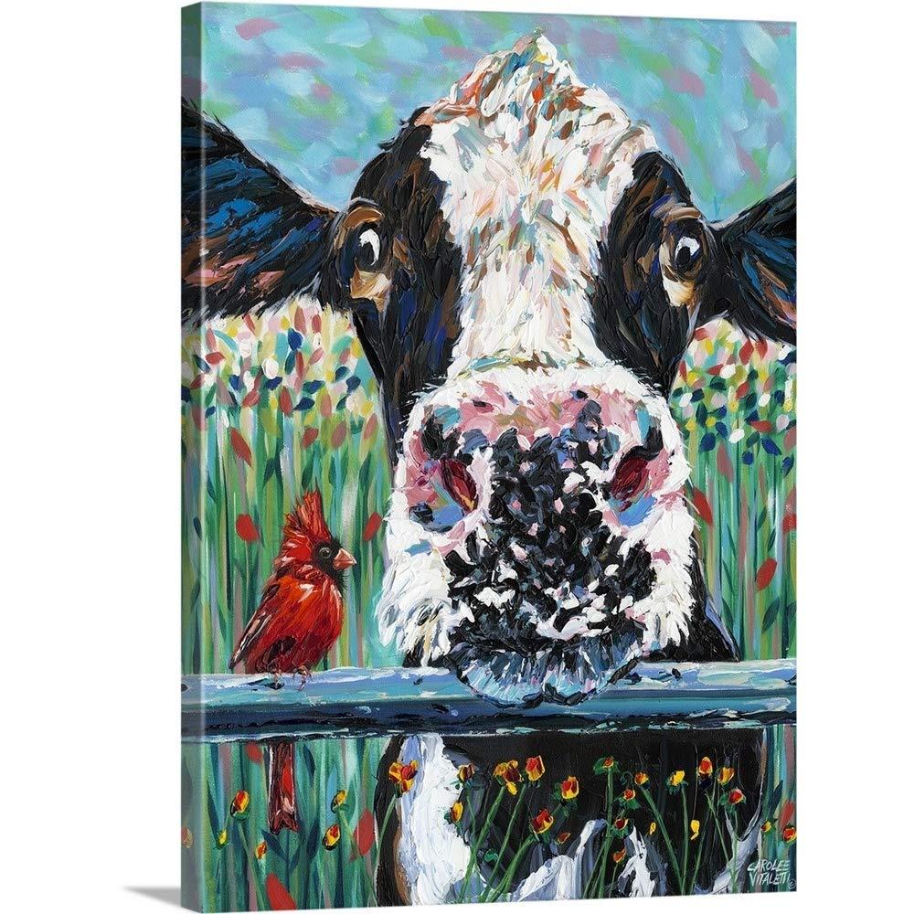 Carolee Vitalettiプレミアムシックラップキャンバス壁アート印刷題名ファームBuddies I 18