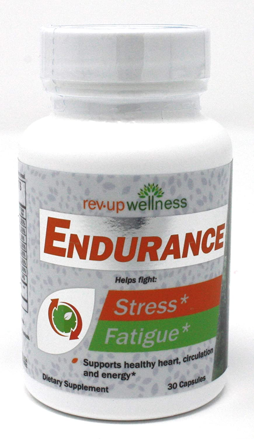Rev Up Wellness Endurance, 1.6 Ounce, Pack of 30 Tablets