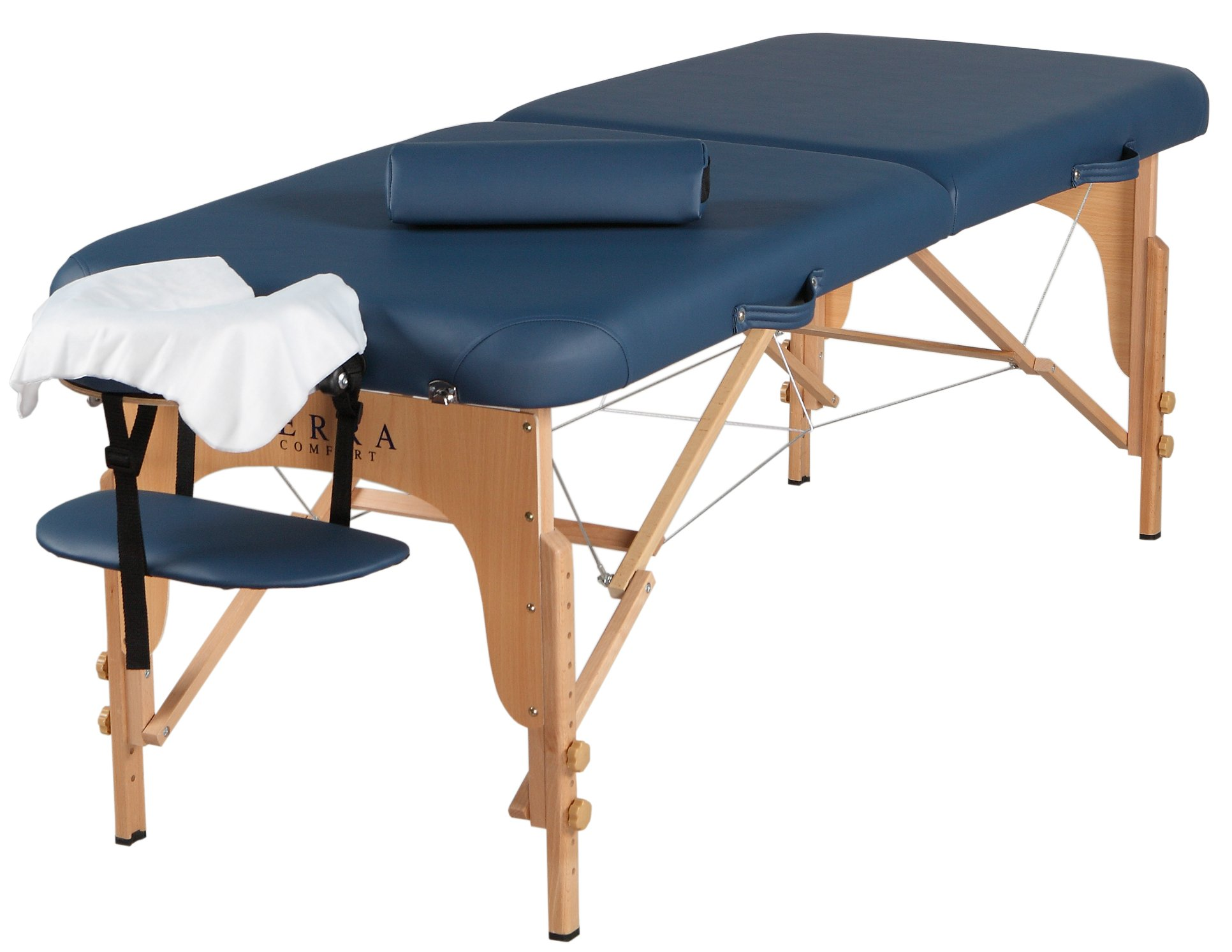 Sierra Comfort Professional Series Portable Massage Table, Royal Blue