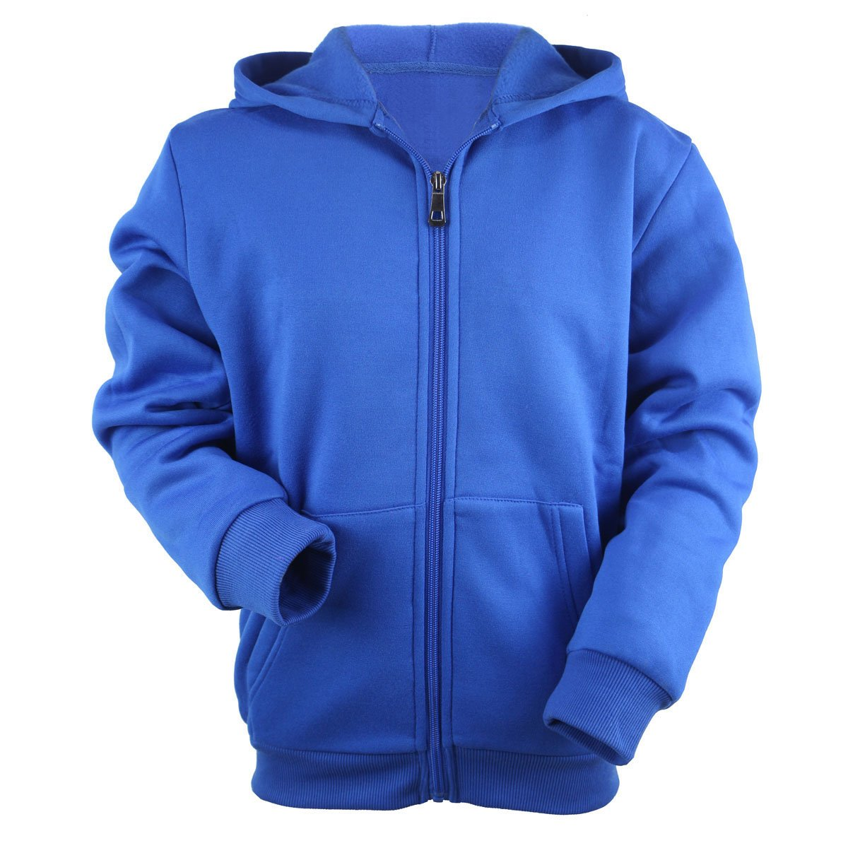 Urimoser Hoodies for Boys Full Zip Lightweight Fleece Athletic Kids Sweatshirt