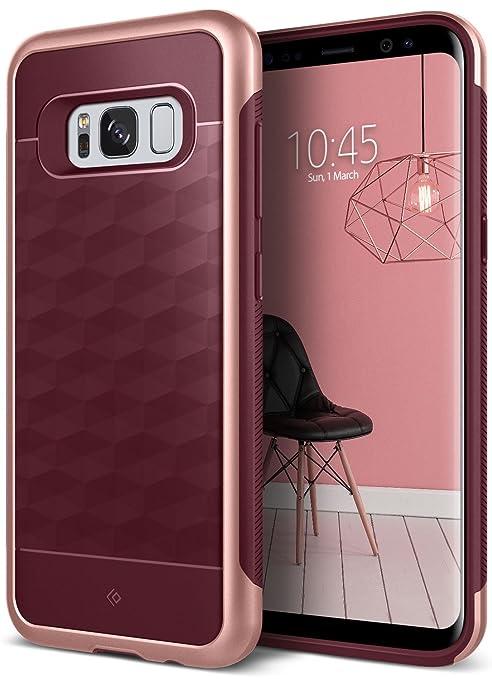 2 opinioni per Caseology Custodia Galaxy S8, [Serie Parallax] Cover, Sottile Protettiva