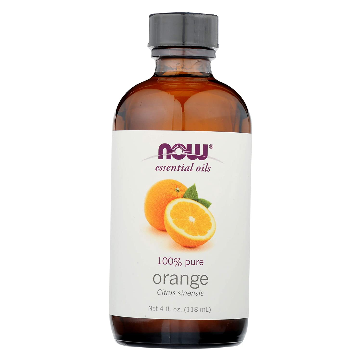 NOW FOODS Orange Essential Oil, 4 FZ