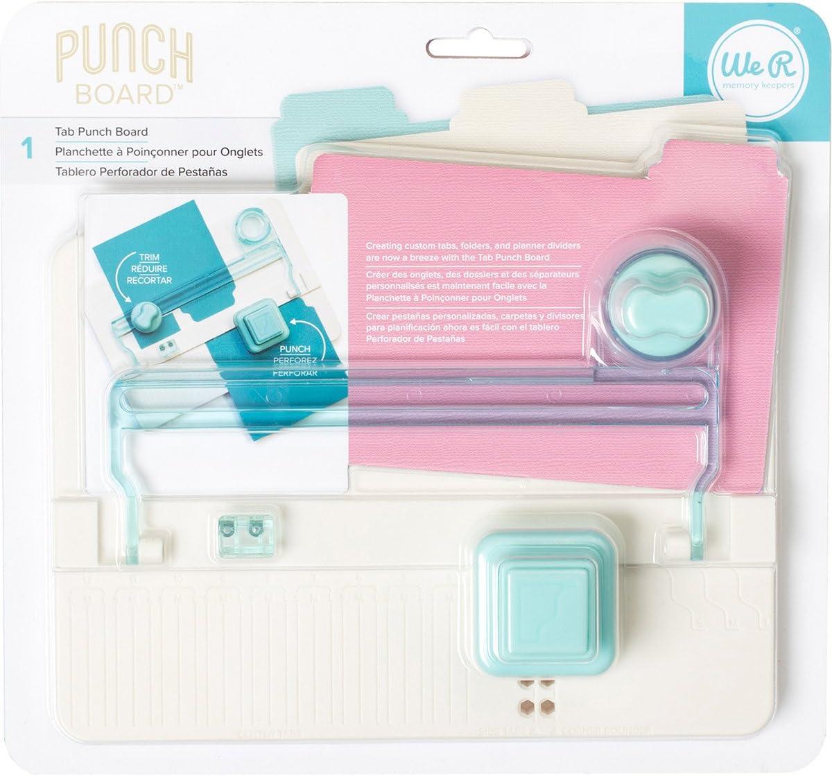 We R Memory Keepers Punch Board Marca, plástico, Multicolor, 10 x 12 x 6 cm, Talla Única: Amazon.es: Hogar