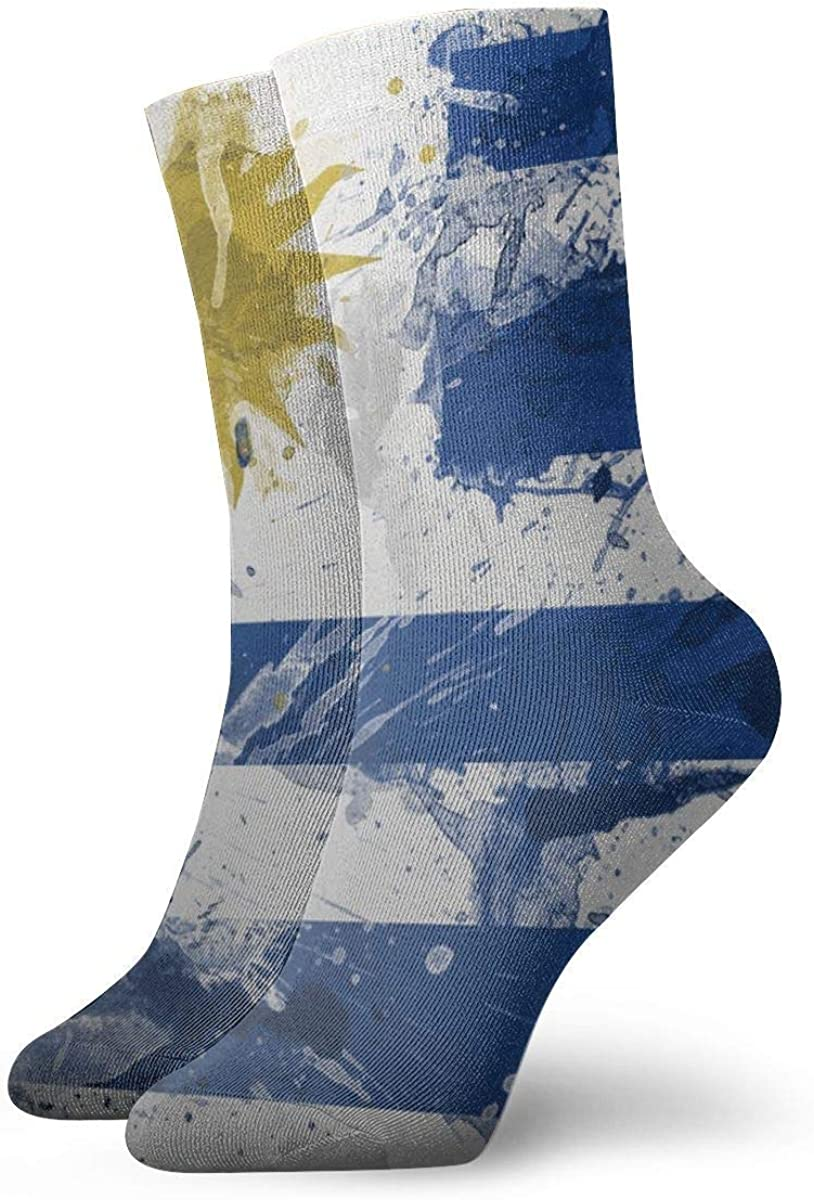 Amazon.com: Uruguay Flag Paint Dress Socks Funny Socks Crazy Socks Casual  Socks for Girls Boys: Clothing