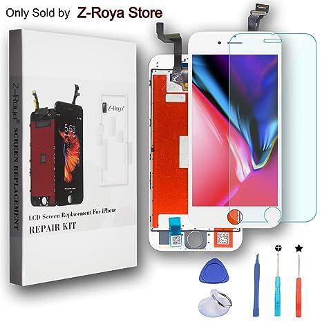 0a9cdbee748 Z-Roya Pantalla Táctil para iPhone 6S 4.7 LCD Retina Display con Juego de  Ensamblaje